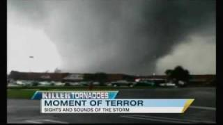 Tuscaloosa, AL Tornado Video: First-Hand Look at Destruction thumbnail