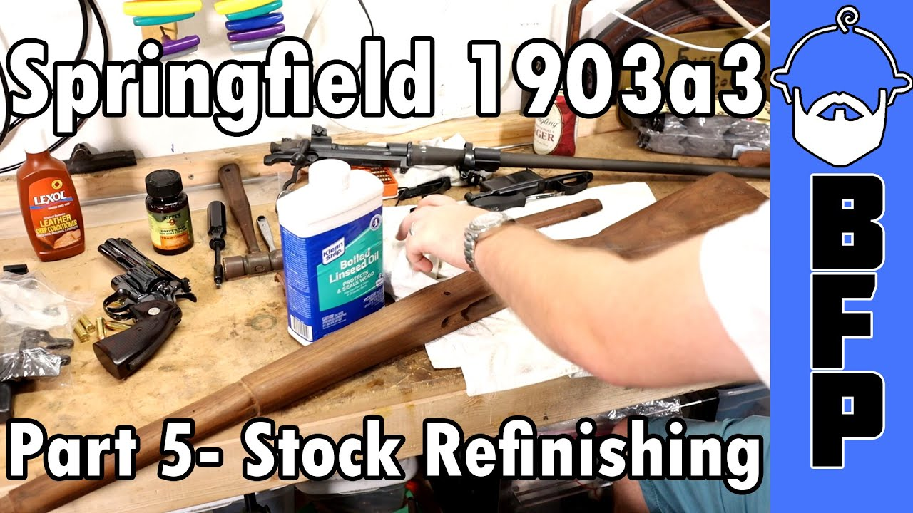 1903a3- Part 5- Stock Oiling