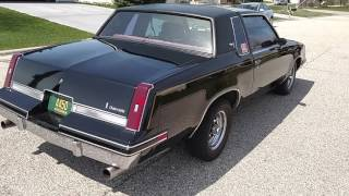 1984 Oldsmobile Cutlass Calais with T-Tops