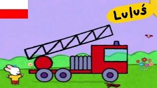 Luluś - Narysuj mi wóz strażacki S01E25 HD // Kreskówki dla dzieci
