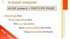 """das Passé Composé (Teil 1) mit """"avoir"""""""