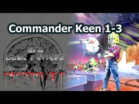 Exploring The Id: id Software History - Commander Keen PC Game Review Part 1 (p03)