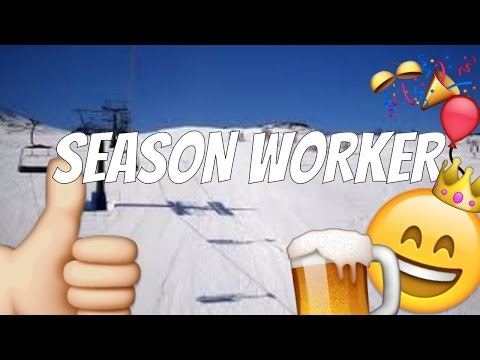 WORKING At A SKI RESORT!? Watch This Video!