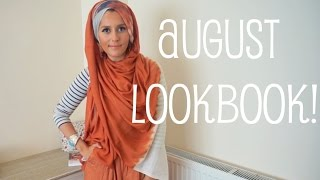 AUGUST LOOKBOOK!