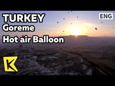 【K】Turkey Travel-Goreme[터키 여행-괴레메]카파토키아 열기구/Cappadocia/Kapadokya/Hot air Balloon/Rock/Bizarre stones