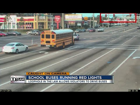 I-Team: Bay area bus drivers busted running red lights