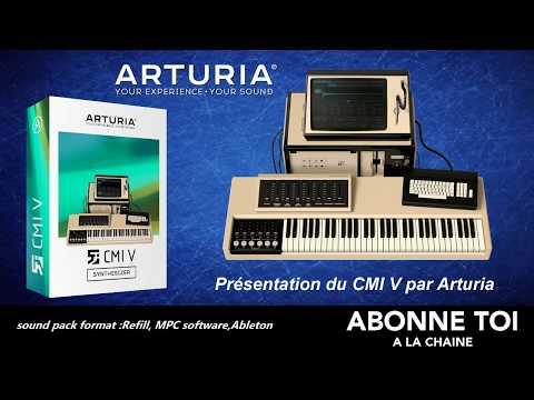 """abc du beatmaking """"STUDIO ONE PRO4 Présentation du CMI V par Arturia"""""""