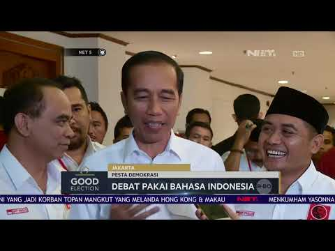 Akhirnya Jokowi Tanggapi Wacana Depat Memakai Bahasa Inggris-NET5