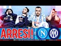 😡ARRESI!!! NAPOLI 1-1 INTER | LIVE REACTION NAPOLETANI HD