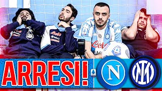 😡ARRESI!!! NAPOLI 1-1 INTER | LIVE REACTION NAPOLETANI HD