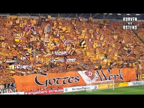 SG Dynamo Dresden 5:4 n.E. Red Bull Leipzig 20.08.2016 | Choreo & Support