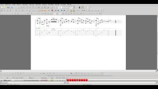 Tám chữ có - Intro guitar