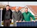 Sonnenenergie für Kirchhain – Bürgermeister Hausmann besucht Baustelle in Niederwald