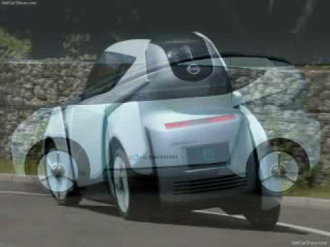 2009 Nissan Land Glider Concept Youtube