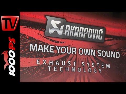 "Akrapovic Slip-On Classic-Line - ""Make your own sound"""