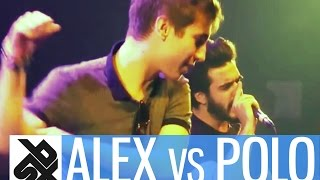 ALEXINHO vs POLO MR GROOVE |  French Beatbox Championship 2015  | 1/4 FINAL