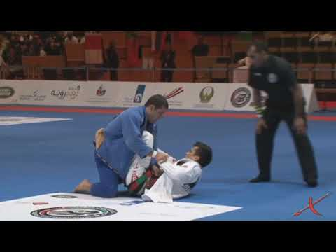 Augusto Tanquinho Mendes vs  Rubens Charles Mundial Abu Dhabi 2013
