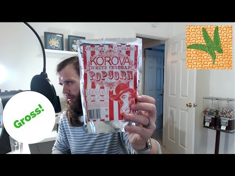Korova 300 mg White Cheddar Popcorn Marijuana Edible Review