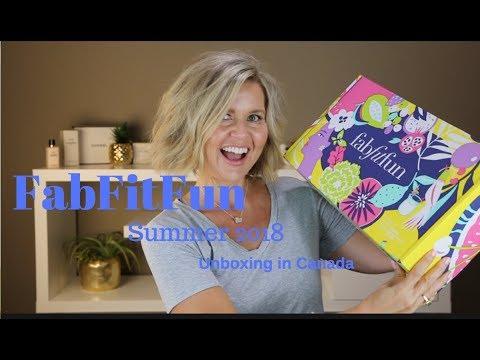 Fabfitfun Summer 18 Unboxing - From Canada!