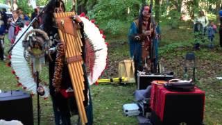 The Choctaw Spirit на день шахтера в Тойла 2013