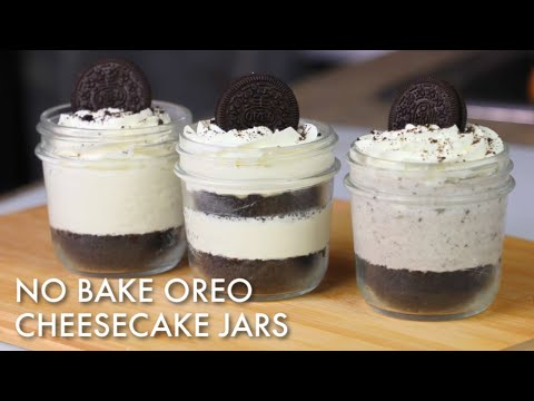 No Bake Oreo Cheesecake Jars Recipe