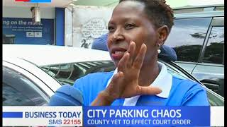 County system still charging sh. 400 parking fee, county yet to effect court order