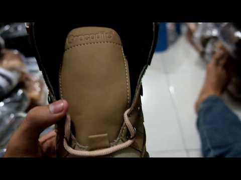 Sepatu Boots Safety Pria Crocodille Armour