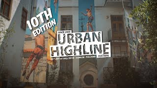 City highlines and Slacklife at the campsite – Urban Highline Festival 2018