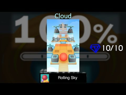 Rolling Sky Level 25 (???) - Cloud