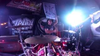 Hardcore Drumming - Punk Drummer - Hardcore-punk drums (live)