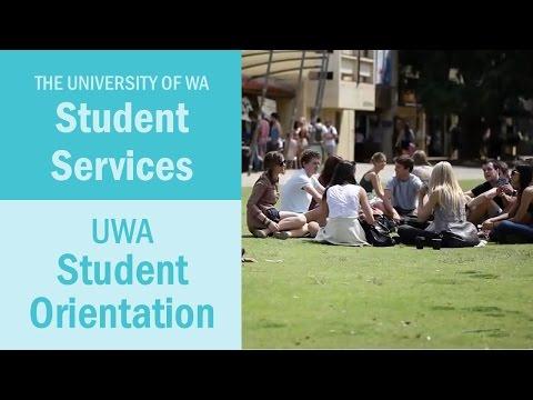UWA Student Orientation