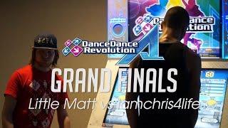 [Raj 5] DDR A GRAND FINALS - Little Matt vs iamchris4life