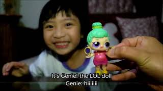 COOKIE PIE&#39S FUN BOX VLOG #1 : Toy Surprise Review feat. Genie LOL Doll, Troll, My Little Pony