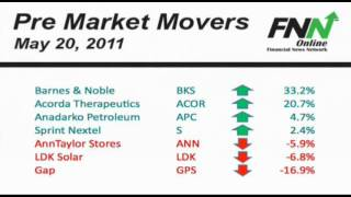 Pre Market Movers: May 20, 2011