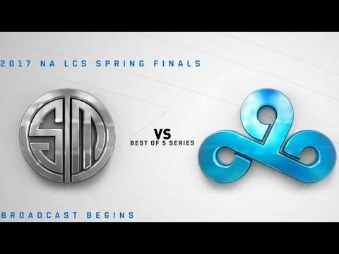 Team Solo Mid vs Cloud9 | TSM vs C9 | NALCSLCS Spring 2017 Finals | LoL Esports 24/7
