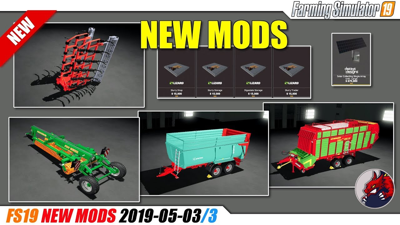 FS19 | New Mods (2019-05-03/3) - review