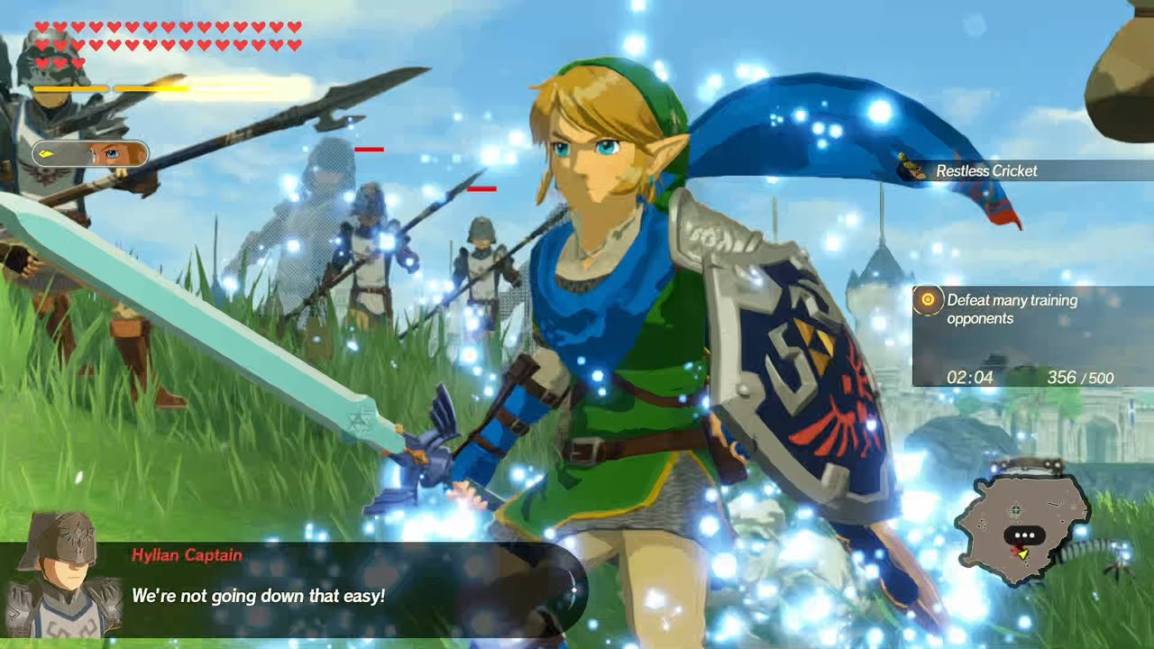 Hyrule Warriors Age Of Calamity Unlocking The Final Link Costume Link 1 Hand Moveset Showcase Youtube