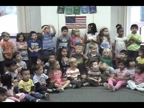 """Sing peace around the world""  By Plymouth Canton Montessori School Canton MI."