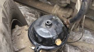 Замена энергоаккумулятора на тормозную камеру Вольво ФШ/Volvo FH FM.Установка