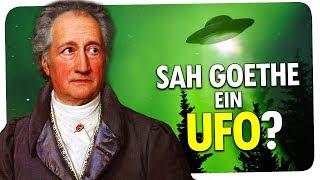 HAT GOETHE EIN UFO GESEHEN?