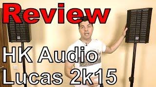 [Test] HK Audio Lucas 2k15 - 2.1 System für mobile DJs und kleine Bands