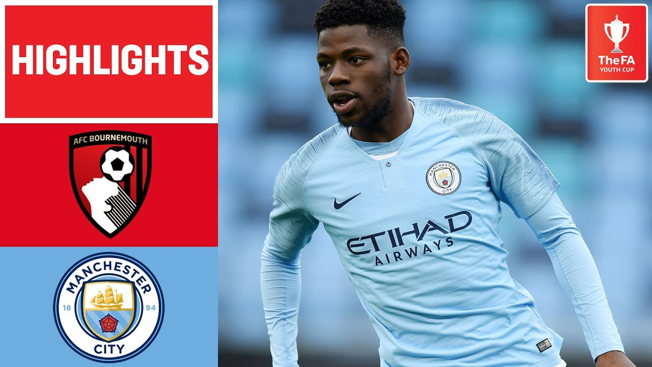 quality design 592f2 9cd6d Comfortable Win for Young Cityzens   Bournemouth U18 1-4 Manchester City  U18   FA Youth Cup 18/19