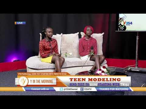 Award Winning Kenyan Teen Models Go International