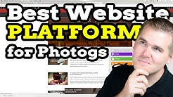 Best Website Maker for Photographers: Squarespace? Zenfolio?  WordPress? Wix?