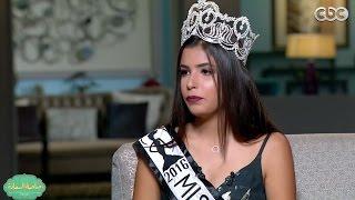 بالفيديو.. ملكة جمال مصر 'نادين أسامة' تكشف عن سبب فوزها بالمسابقة