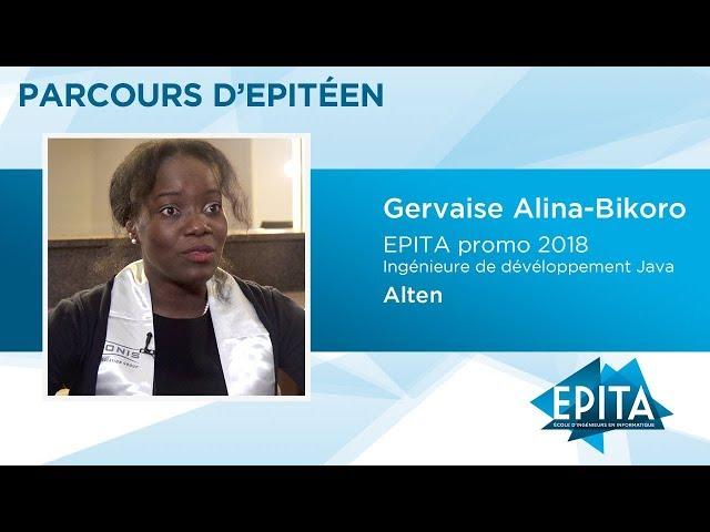 Parcours d'Epitéen - Gervaise Alina-Bikoro (promo 2018) - Alten