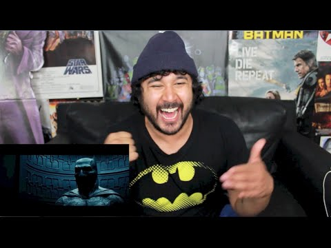 BATMAN VS. SUPERMAN DAWN OF JUSTICE TEASER TRAILER SNEAK PEEK REACTION!!!