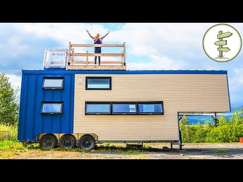 This Big Modern Tiny House is Pure Luxury - Full Tour in 4K