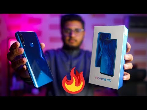 Honor 9x Unboxing | Price in Pakistan= Rs 38,999/-