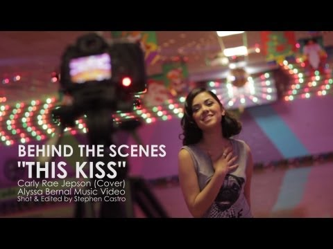 Behind The Scenes Of This Kiss Cover Music Video Shoot - Alyssa Bernal